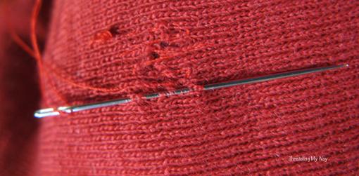 sweaterdarning